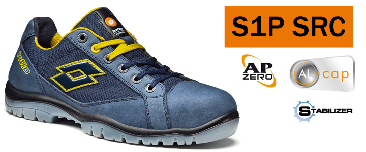 Los Angeles 419f0 ec798 Details about SAFETY SHOES LOTTO WORKS JUMP 500 Q1997 S1P SRC TIP ALUMINIUM
